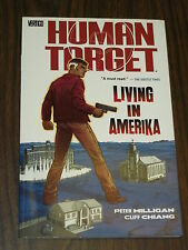 HUMAN TARGET LIVING IN AMERIKA VOL 2 VERTIGO DC COMICS   1401204198