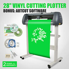 "28"" VINYL CUTTER CUTTING PLOTTER W/ ARTCUT SOFTWARE STICKER DESIGN/CUT"