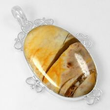 8.73 Gram 925 Sterling Silver Natural Mookaite Design Pendant Jewelry $ svp2291
