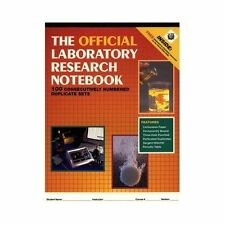 The Official Laboratory Research Notebook (100 duplicate sets) by Jones & B