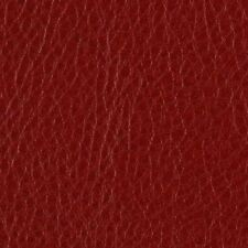 DARK RED FAUX LEATHER SOFT FABRIC for UPHOLSTERY SEAT STOOL By The Yard