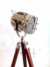 Vintage Shoot Floor Lamp Nautical Searchlight Handmade Designer Spot Lamp Decor
