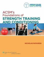 NEW - ACSM's Foundations of Strength Training and Conditioning