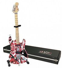 Eddie Van Halen Miniature Replica Guitar Red-White-Black NEW 000194645