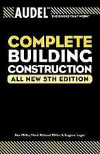 Audel Complete Building Construction (Audel Technical Trades Series)-ExLibrary