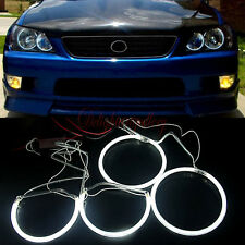 CCFL ANGEL EYE HALO RING SUPER WHITE for 98-05 LEXUS IS200 IS300 DH