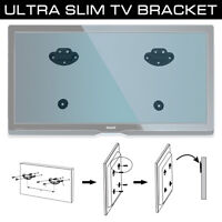 "Ultra Slim 26-55"" LED TV Flat Screen Wall Mount Bracket Universal VESA 400x400"