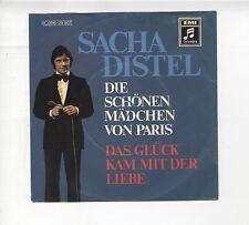 45 tours Allemagne Sacha DISTEL chante en allemand Die Schönen Mädchen von Paris