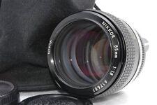 Exc Nikon Nikkor 85mm f/1.8 f 1.8 non Ai Lens *417651