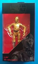 "Star Wars Hasbro The Black Series Walgreen Exclusive C-3PO 6"" Near Mint"