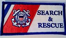 United States Coast Guard Search and Rescue Patch Sew on or Iron on