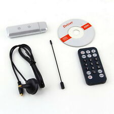 USB 2.0 DVB-T Digital TV Receiver HDTV Tuner Dongle Stick Antenna IR Remote LD