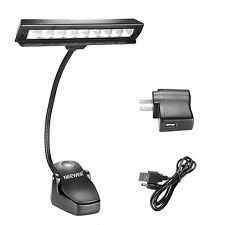 Neewer Clip On Music Stand Light Orchestra LED Lamp with 2 Brightness Levels