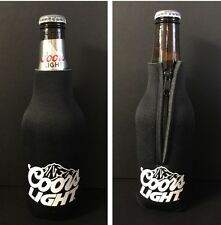 Coors Light Beer Koozie Fits 12 Oz Bottle Classic Logo ~ NEW & Free Shipping (1)