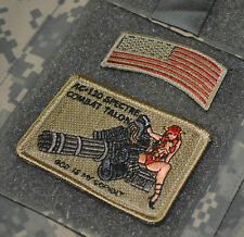 KANDAHAR POLO CLUB JSOC AC-130U GHOSTRIDER DEATH ON CALL: Combat Talon + US Flag