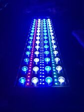 "36"" Reef aquarium custom LED light 208W Full Spectrum for SPS LPS Coral 24 hrs"