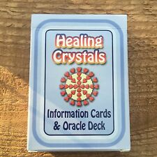 Healing Crystals Gemstones 47 Information Cards & Oracle Deck with Affirmations