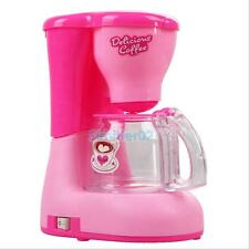 Pink Blender And Coffee Maker Kitchen Appliances Pretend Play Toys Set For Kids