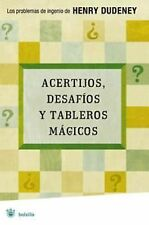 Acertijos, desafios y tableros magicos Riddles, Challenges, and Board Games (Spa