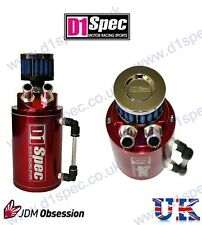 D1 SPEC OIL CATCH TANK RED INTEGRA CELICA 180SX 200SX 240SX EVO 4 5 6 7 8 9 X