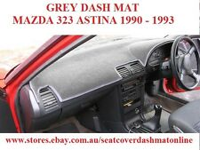 DASH MAT, DASHMAT, DASHBOARD COVER FIT   MAZDA 323 ASTINA 1990 - 1993 GREY