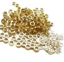 "New MTN Brass Grommets & Washers Grommet #4 1/2"" 12mm 300pcs Banner Signage"