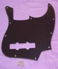 Scratchplate per Fender Jazz Bass / Nero Single Ply