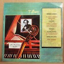LP Rena Kyriakou Mendelssohn Concerto Lange Swarowsky Turnabout still sealed