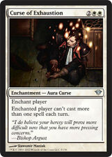 Curse of Exhaustion x4 Magic the Gathering 4x Dark Ascension mtg card lot