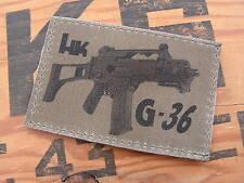 Patch Velcro - HK G 36 - US basse visibilité OD - Airsoft penitencier police