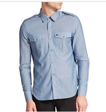100% authentic Burberry Brit Austin Chambray Sportshirt shirt Size S