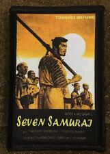Seven Samurai Movie Morale Patch Tactical Hook Milspec badge