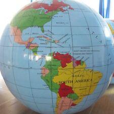 Globe gonflable 30 cm Jouets éducatifs d'apprentissage