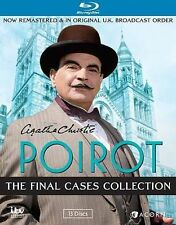 Agatha Christie's Poirot, The Final Cases Collection [Blu-ray] New DVD! Ships Fa