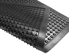 Heavy Duty Gomma Bubble Top anti fatica lavoro sicurezza FLOOR MAT 90 x 120 cm 3x4ft