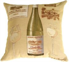 Pillow Decor - Fabrice de Villeneuve White Wine Pillow