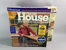 Broderbund This Old House Kitchen & Home Architect (CD-ROM/1998/Win 3.1/95) NEW!