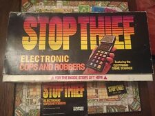 Vintage 1979 STOP THIEF Electronic Cops & Robbers Game 100% Complete & Working