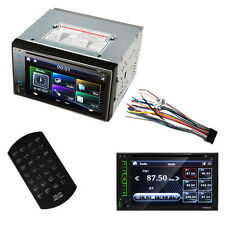 "Digital GPS Double 2 Din 7"" Car DVD CD MP3 Player HD In Dash TV FM Stereo Radio"