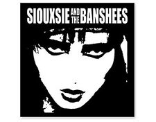 Official Licensed Merch Printed Sew-on Patch Punk Rock SIOUXSIE & THE BANSHEES