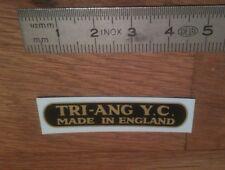 """Transfert logo """"TRIANG"""" pour Jouets TRI-ANG"""