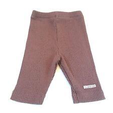 Lili gaufrette marron rayé leggings trousersl bébé filles vêtements 0-3 mois