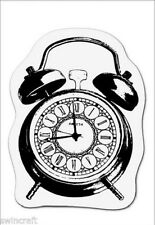 cArt-Us Clear rubber stamp ALARM CLOCK - 001883/2501 REDUCED CLEARANCE