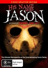His Name Was Jason - 30 Years Of Friday The 13th (DVD, 2009, 2-Disc Set)