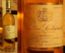 1996er Chateau de Suduiraut - Sauternes - lecker *****