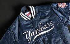 Vintage New York Yankees Starter Jacket MLB Authentic Diamond Collection Size-L