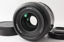 Near MINT Nikon AF Nikkor 35mm f/2 D Wide Angle Lens for Full-Frame from Japan