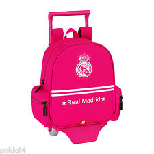 Real Madrid cartable à roulettes Rose trolley S sac à dos 26 cm crèche 203390