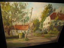 LAMPRECHT Anton, *1901 Wundervolle Dorfansicht