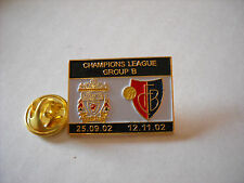 a1 BASEL - REDS cup uefa champions league 2003 spilla football pin